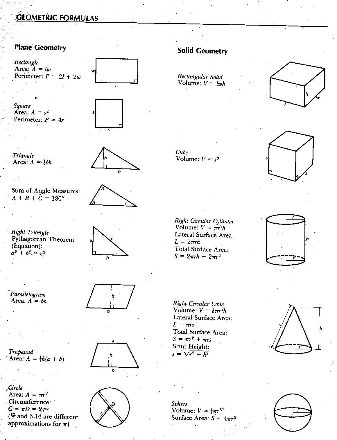 area of parallelogram worksheets